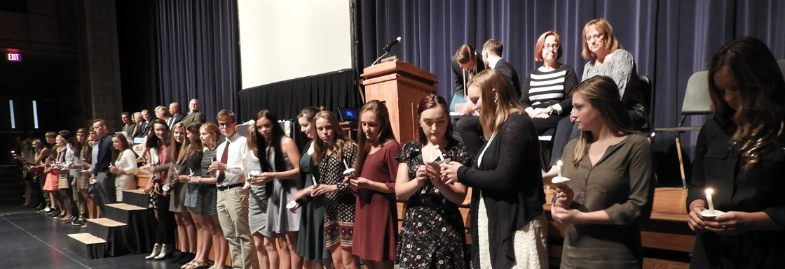 GHS Honor Society Induction Ceremony
