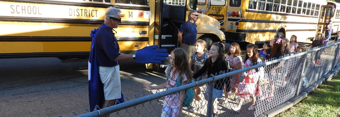 First Day High Fives at GES