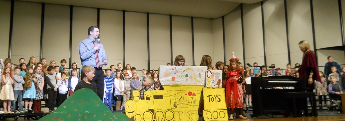 GES 1st Graders Perform 'Little Engine' Musical