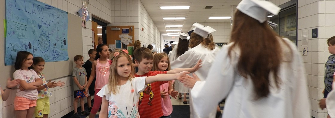 GHS Class of 2018 Graduation March at GES