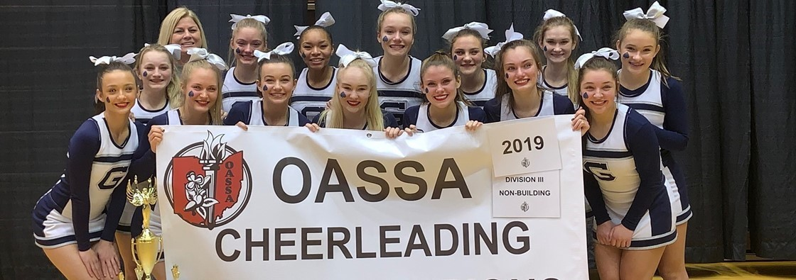 2019 OASSA State Cheerleading Champs!